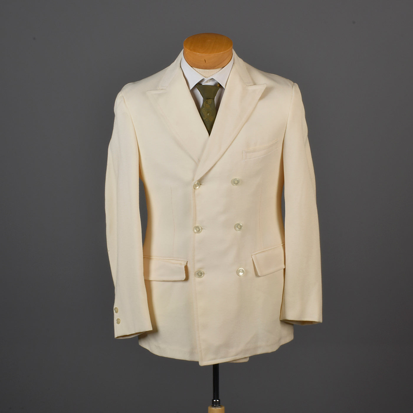 1960s Men's Double Breasted Palm Beach Jacket