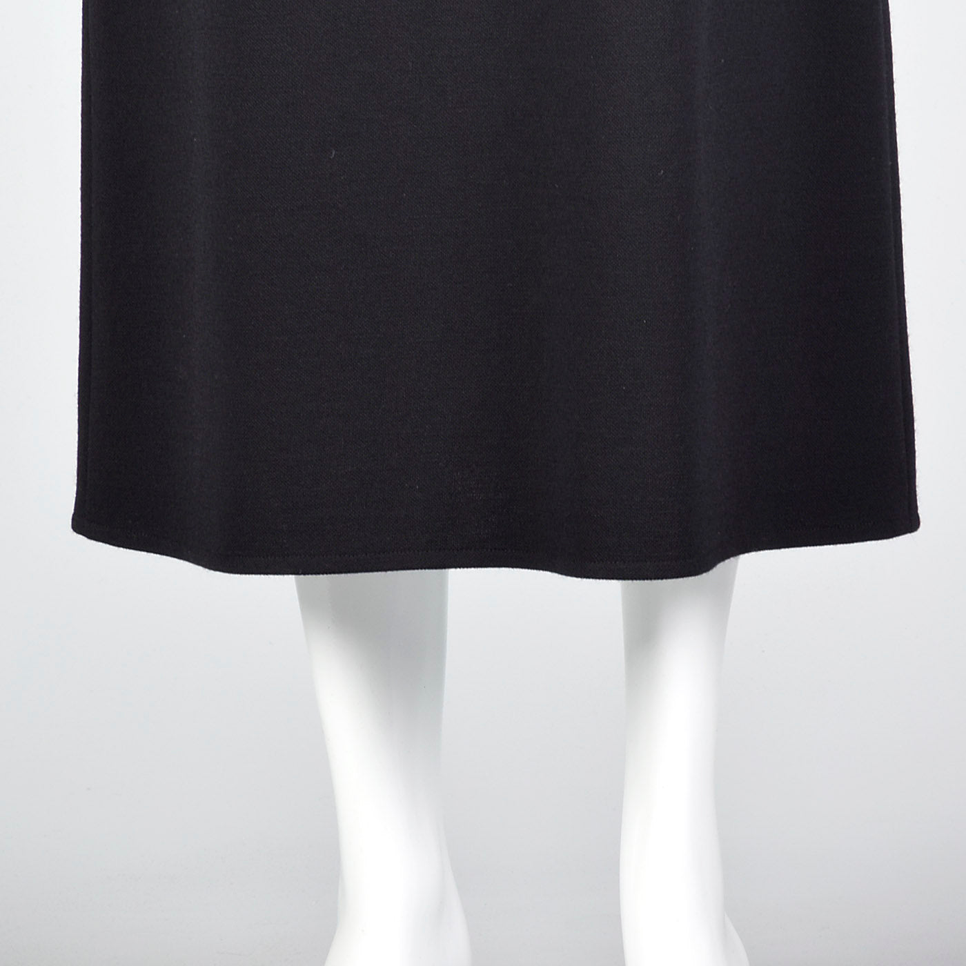 1990s Sonia Rykiel Black Knit Pencil Skirt
