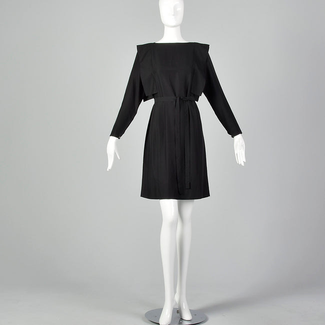 XS Pierre Cardin 1980s Avant Garde Dress