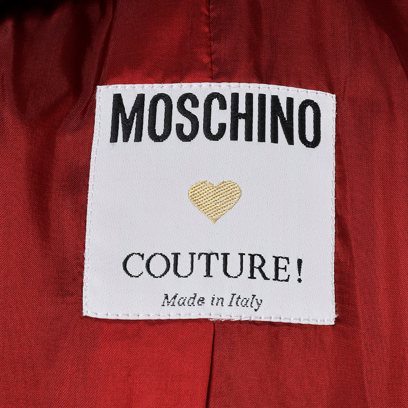 2000s Moschino Couture Mod Target Jacket