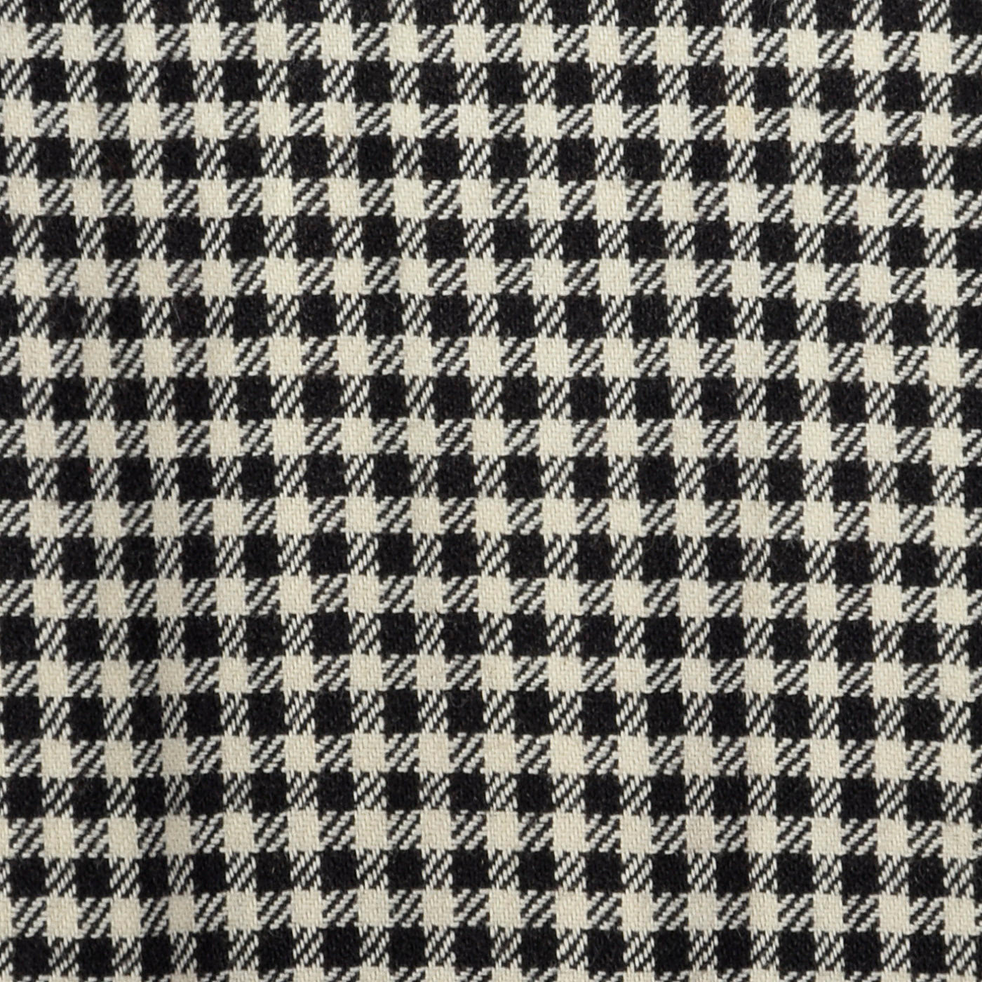 1940s Black and White Check Day Dress