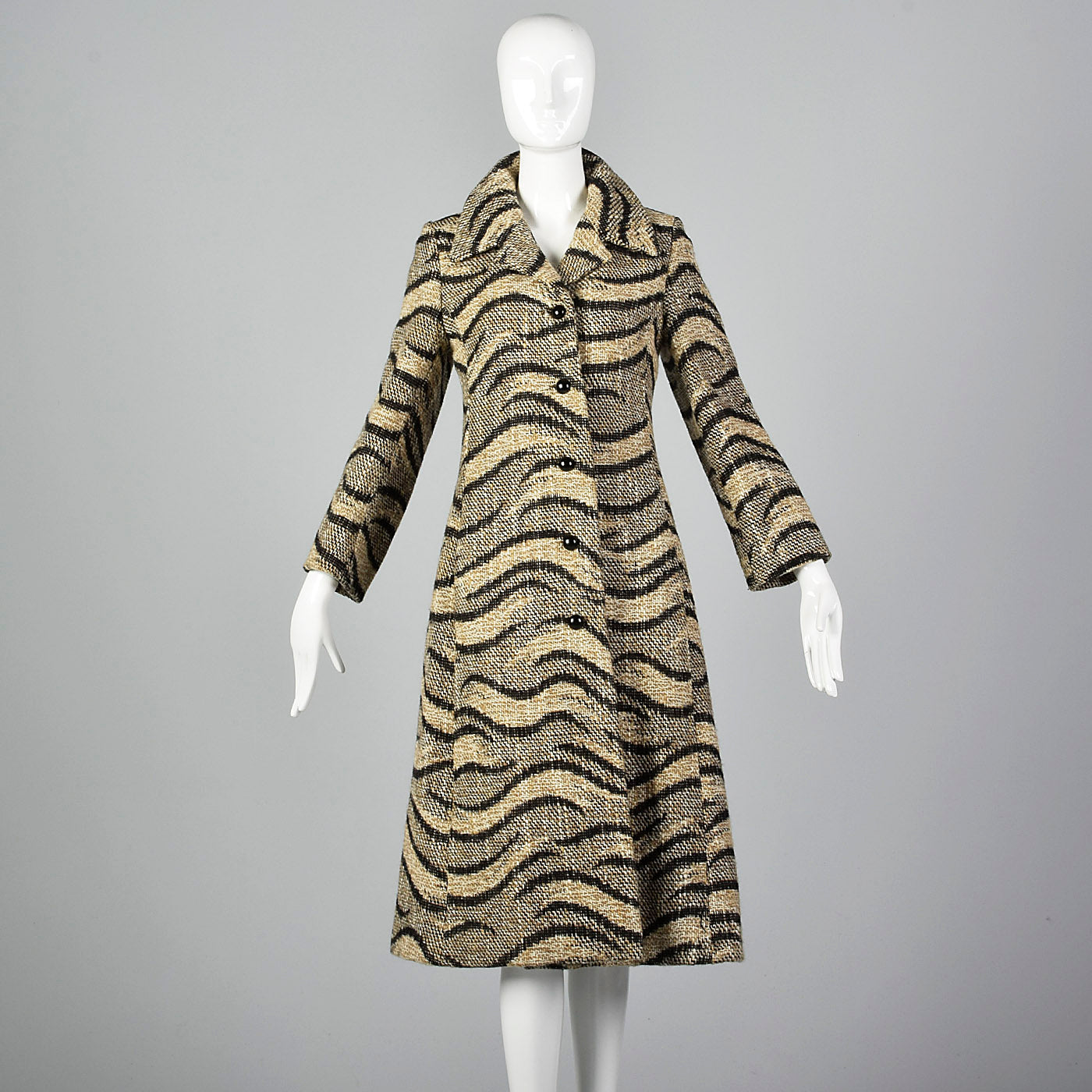 1960s Christian Dior Tweed Coat