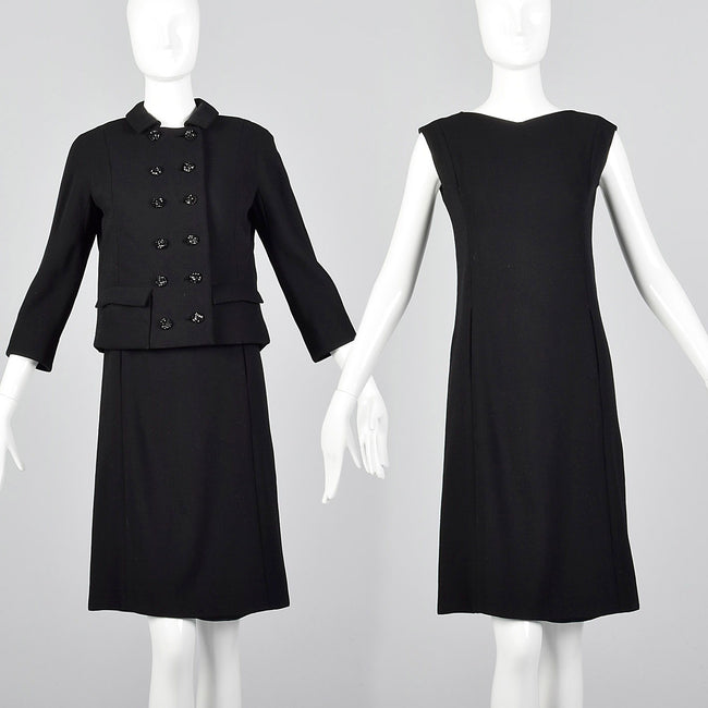 1960s Saks Fifth Avenue Two Piece Dress Set