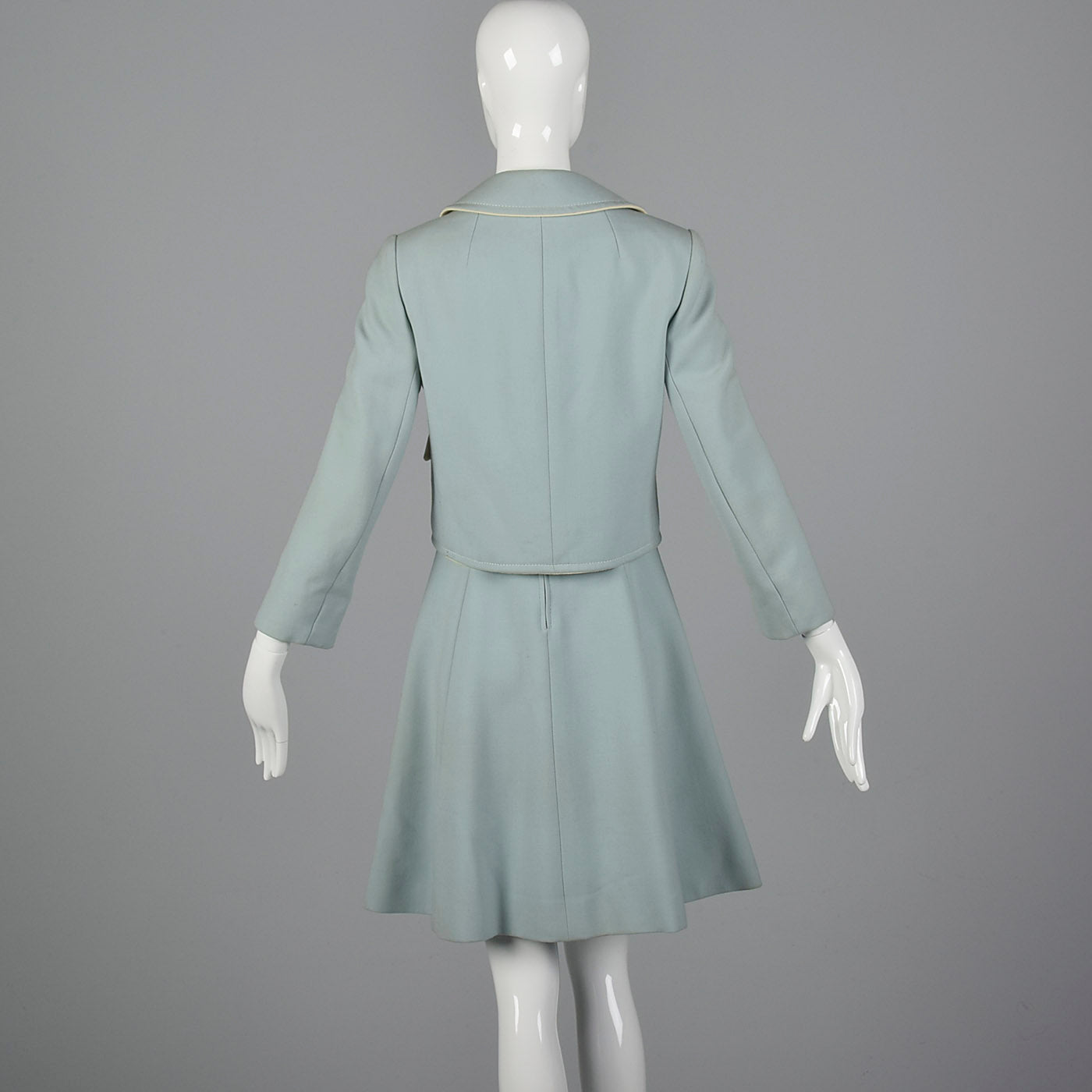 1960s Mod Dress and Jacket Set