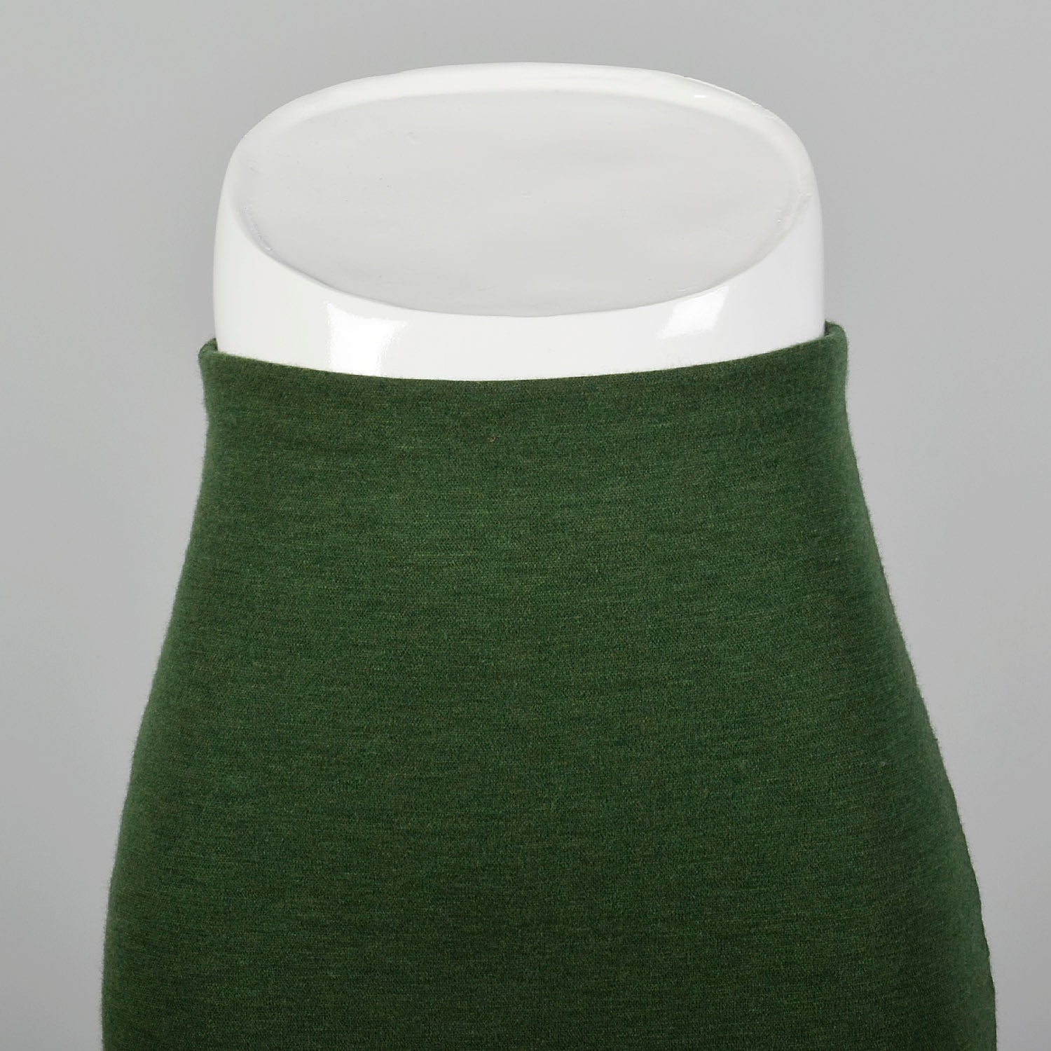 Small Romeo Gigli 1990s Green Knit Skirt