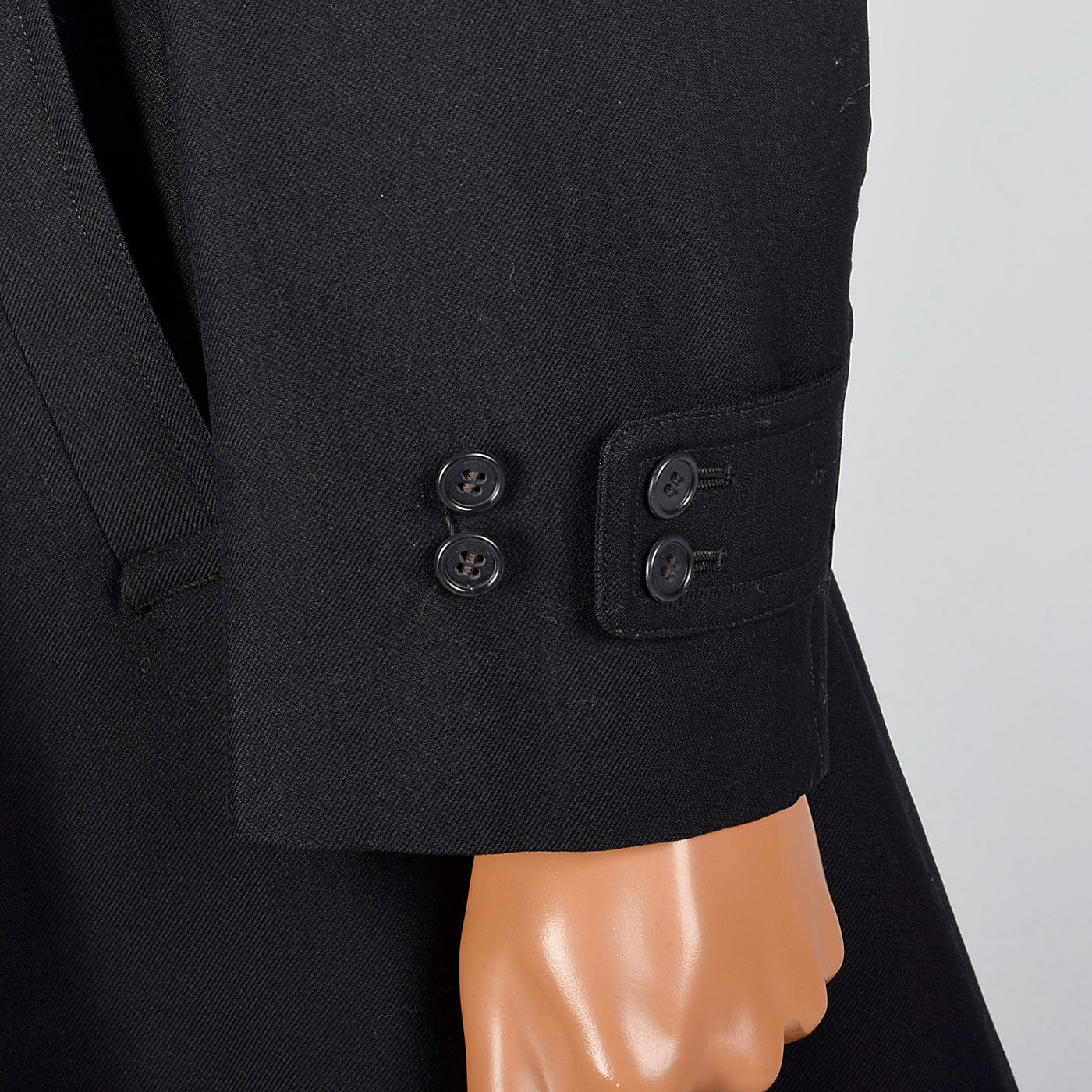 1940s United States Navy Wool Trench Coat