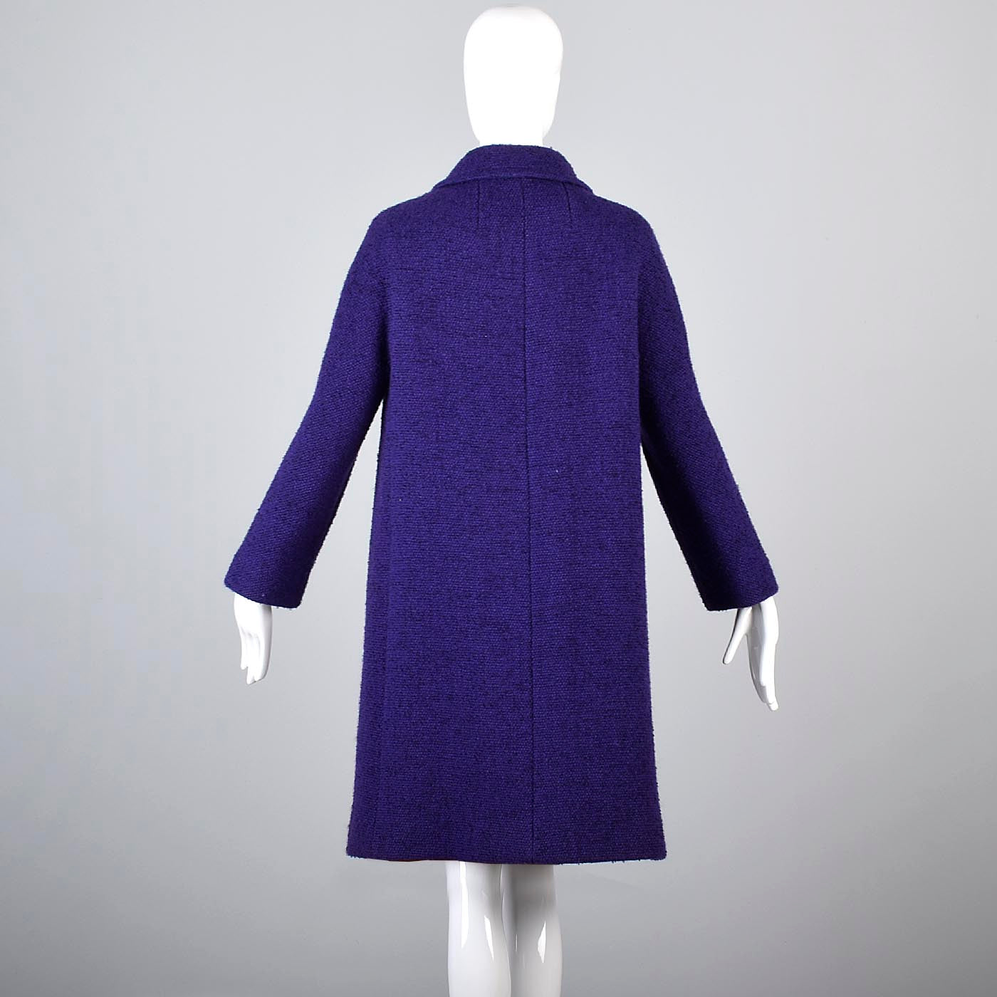 1960s Purple Tweed Coat
