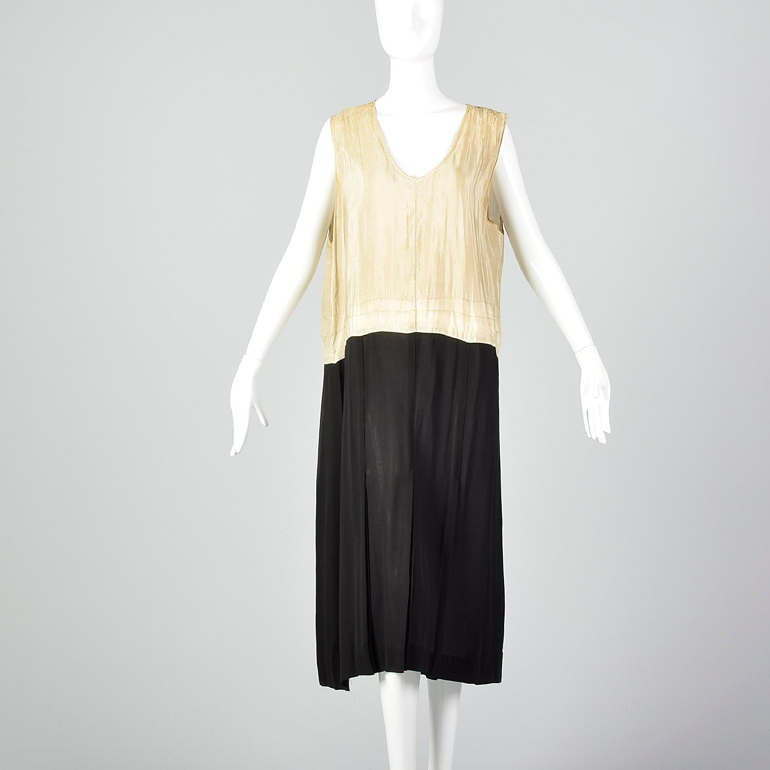Large 1920s Dress and Wrap Top