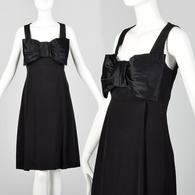 XS Mr. Blackwell 1960s Little Black Dress