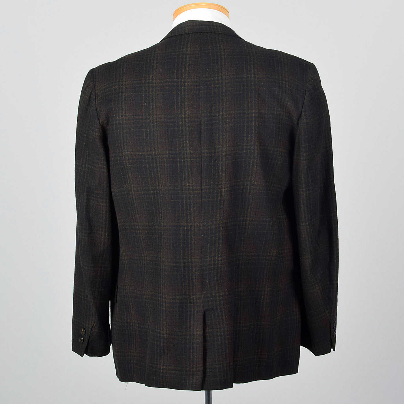 1960s Mens Deadstock Plaid Jacket