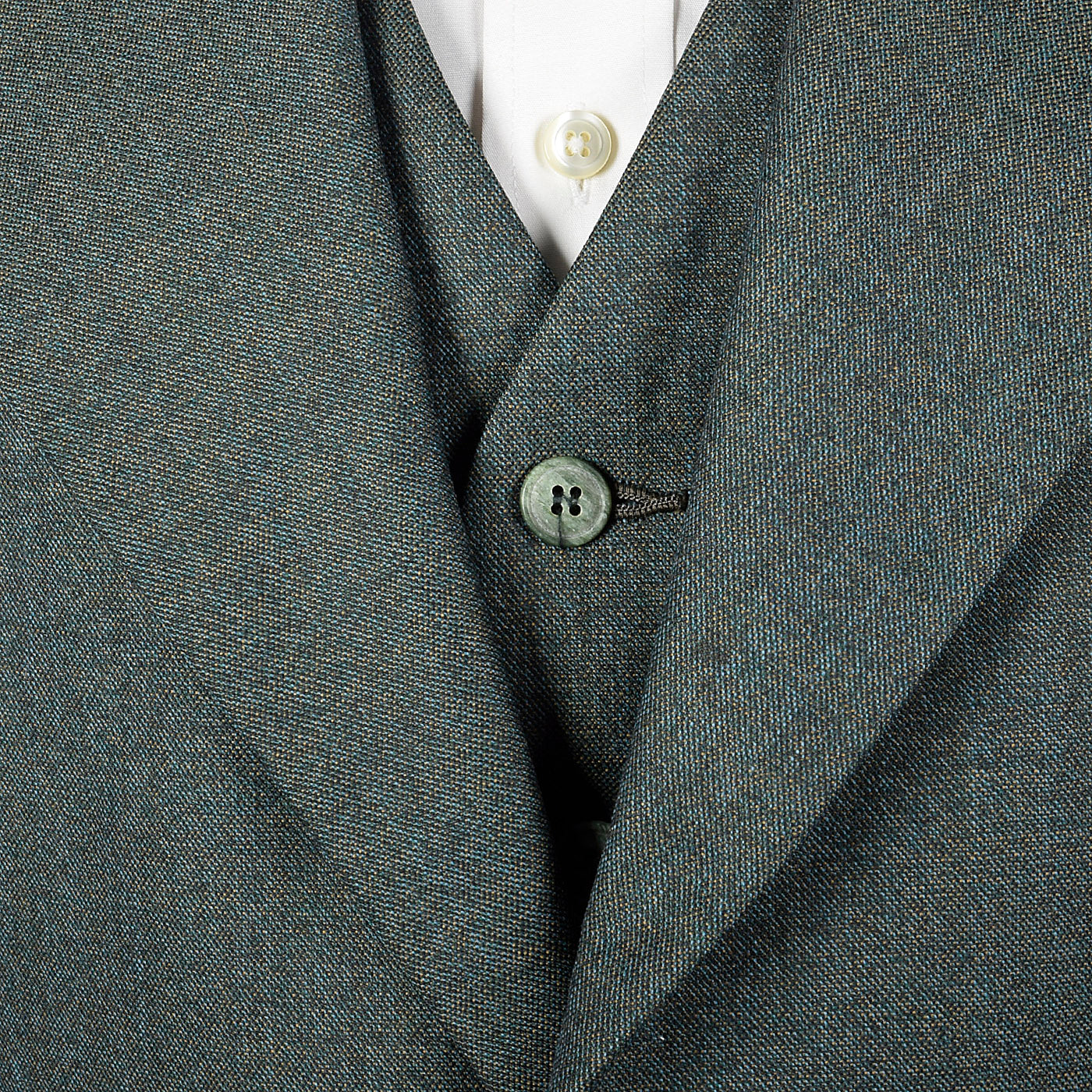 1970s Mens Three Piece Suit in Green