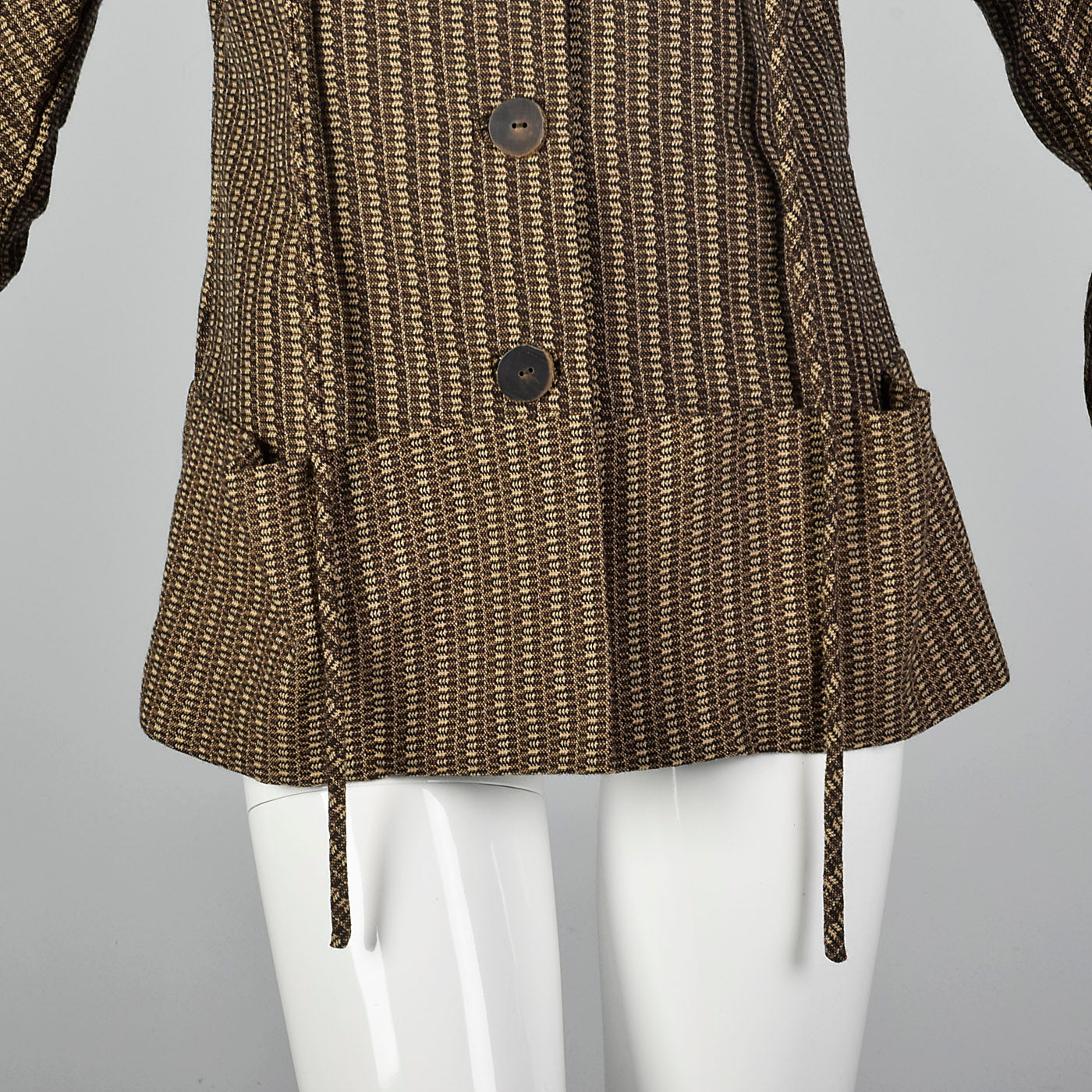 2000s Marni Brown Wool Jacket