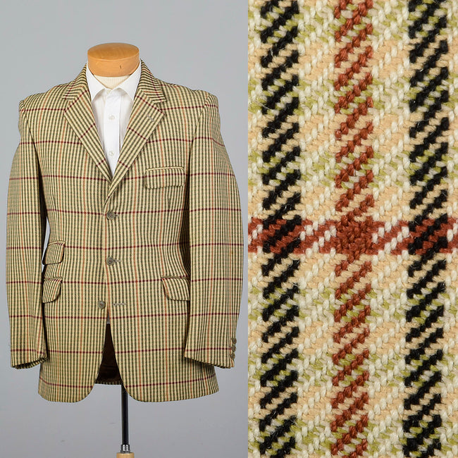 1970s Mens Equestrian Riding Jacket