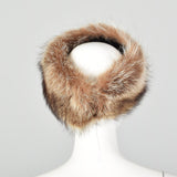 XS Raccoon Fur Headband