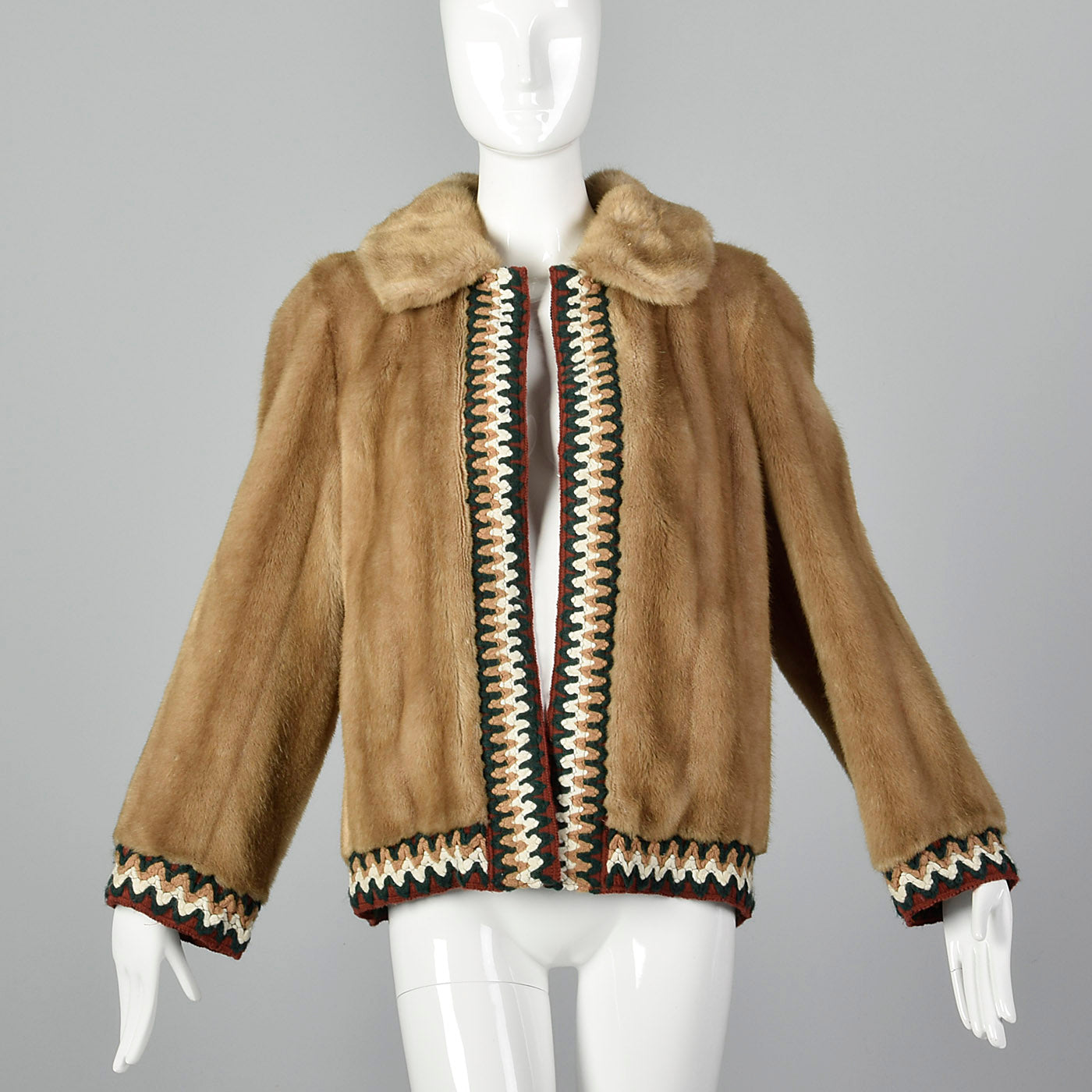1970s Lilli Ann Faux Fur Coat