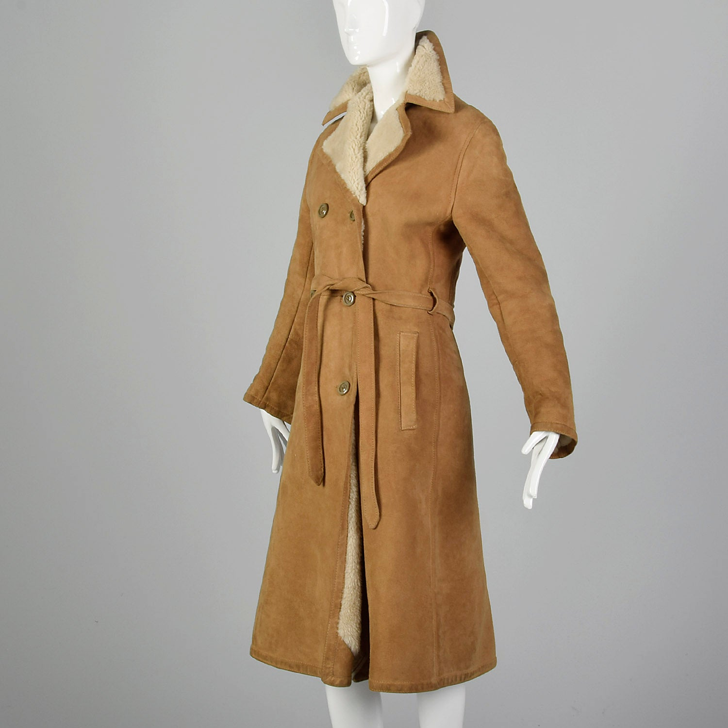 1970s Saks Fifth Avenue Sheepskin Coat