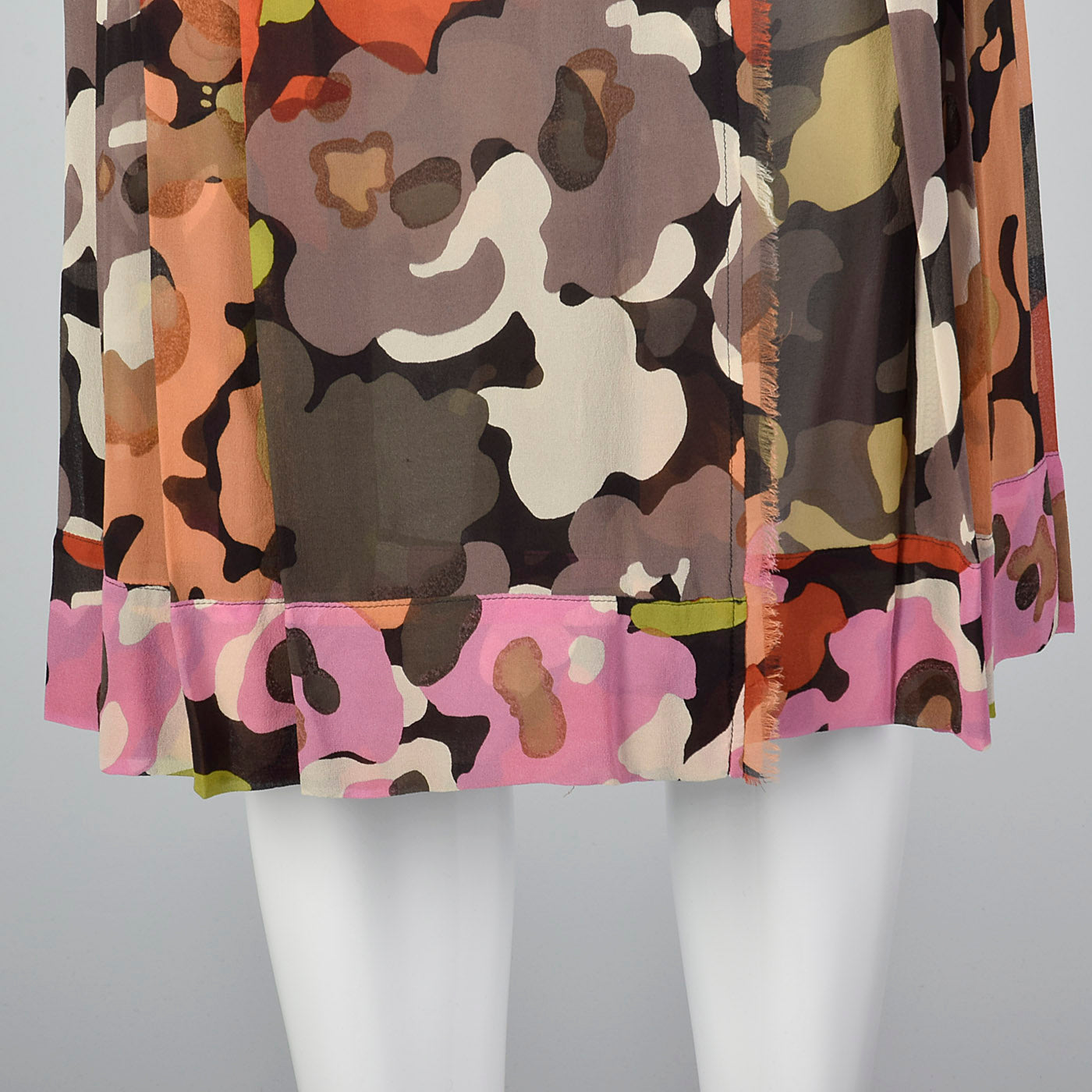 2000s Dries Van Noten Silk Wrap Skirt