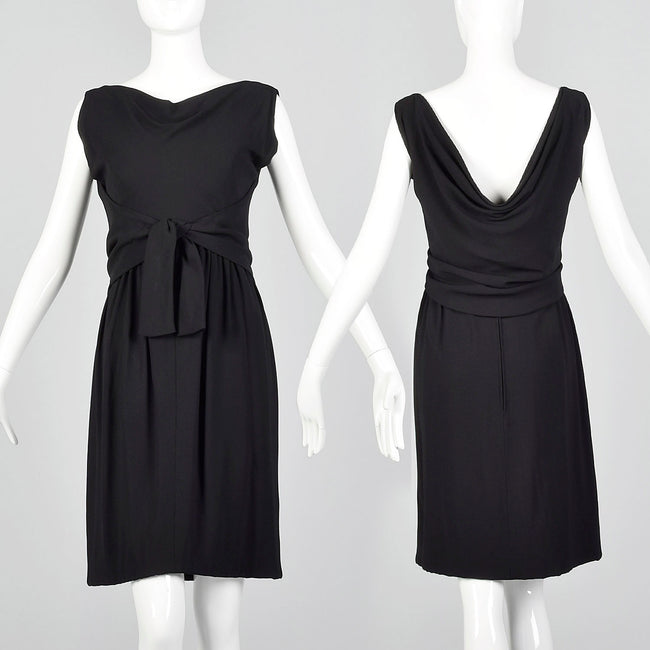 Small 1960s Black Dress