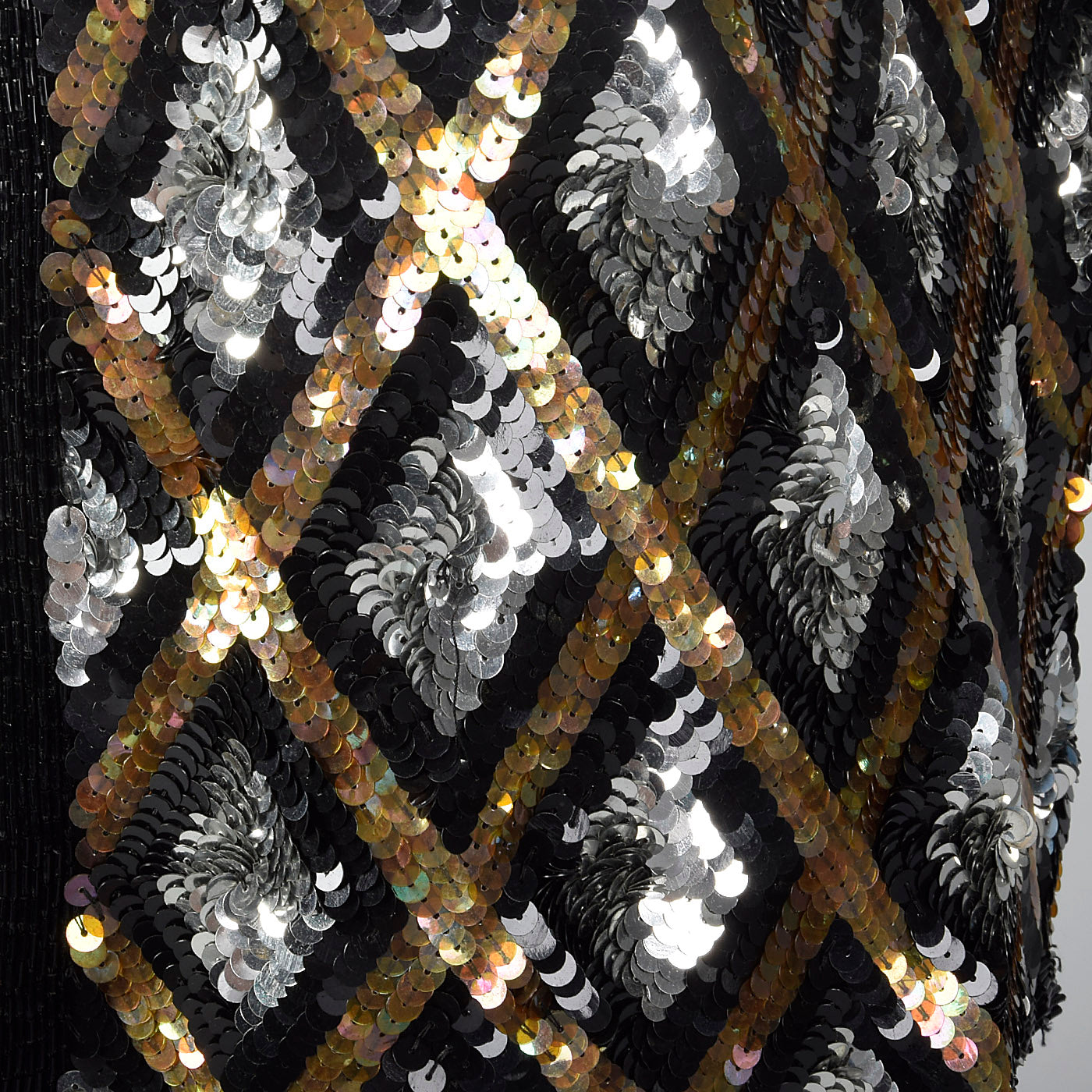 1980s Diamond Sequin Jacket