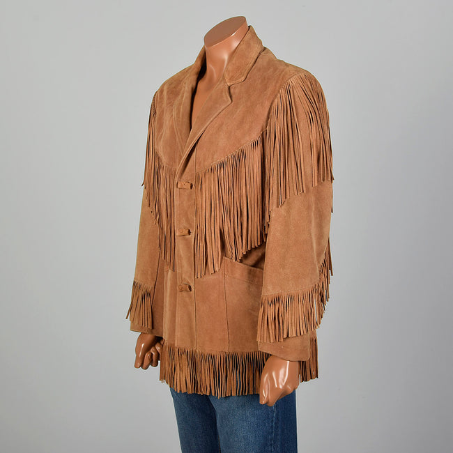 Medium 1990s Men's Pioneer Wear Buckskin