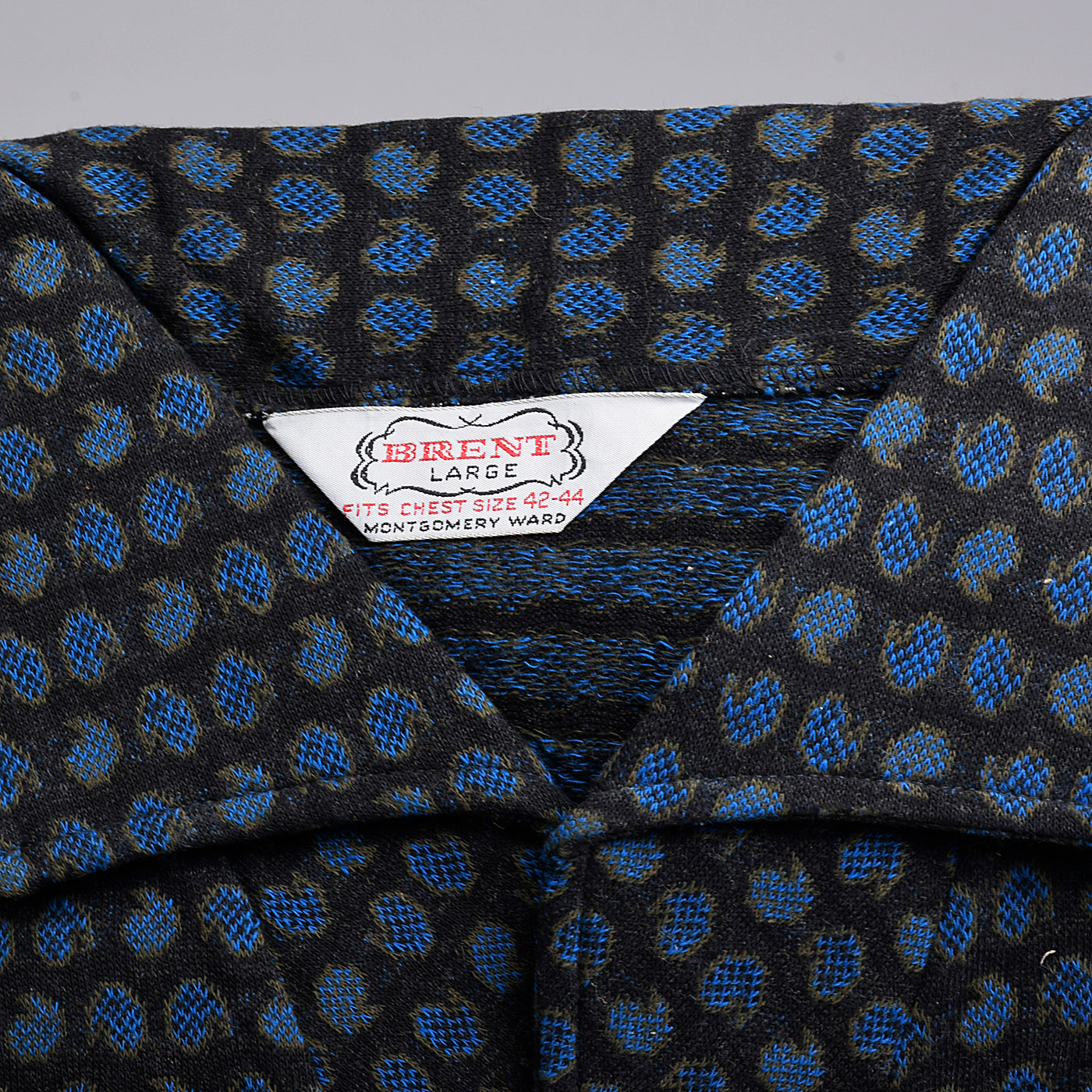1950s Mens Deadstock Pullover Shirt