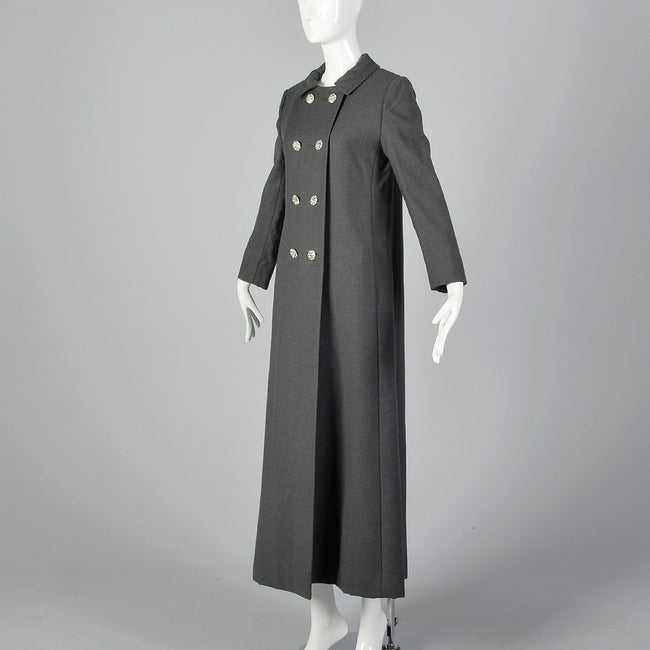 XS 1970s Formal Evening Coat