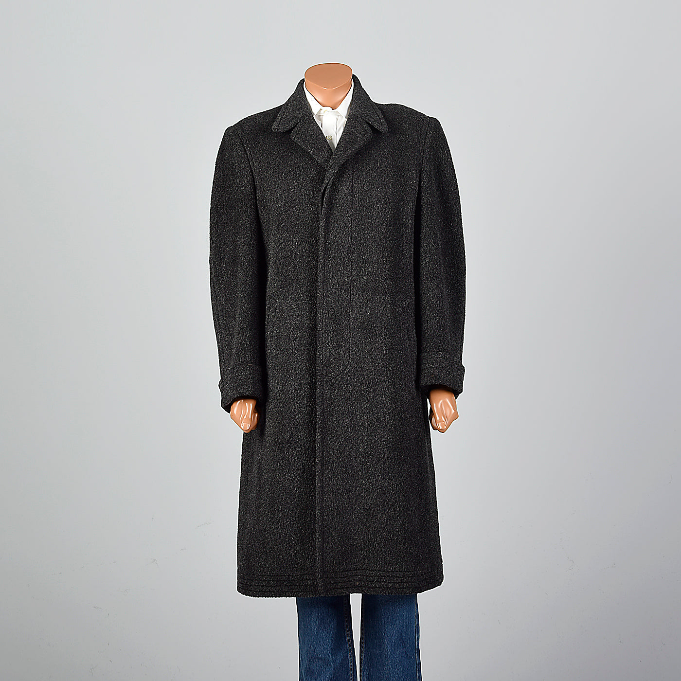 1950s Men's Rare Vicuna Winter Coat