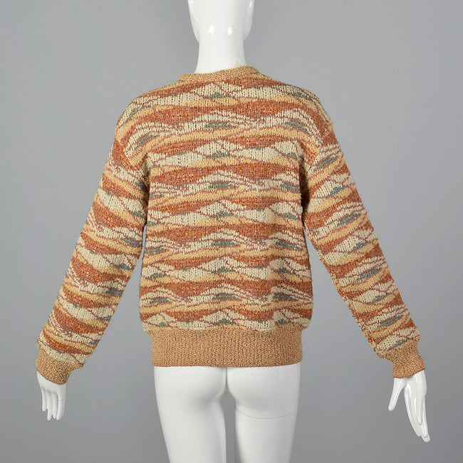 1970s Missoni Chunky Knit Cardigan
