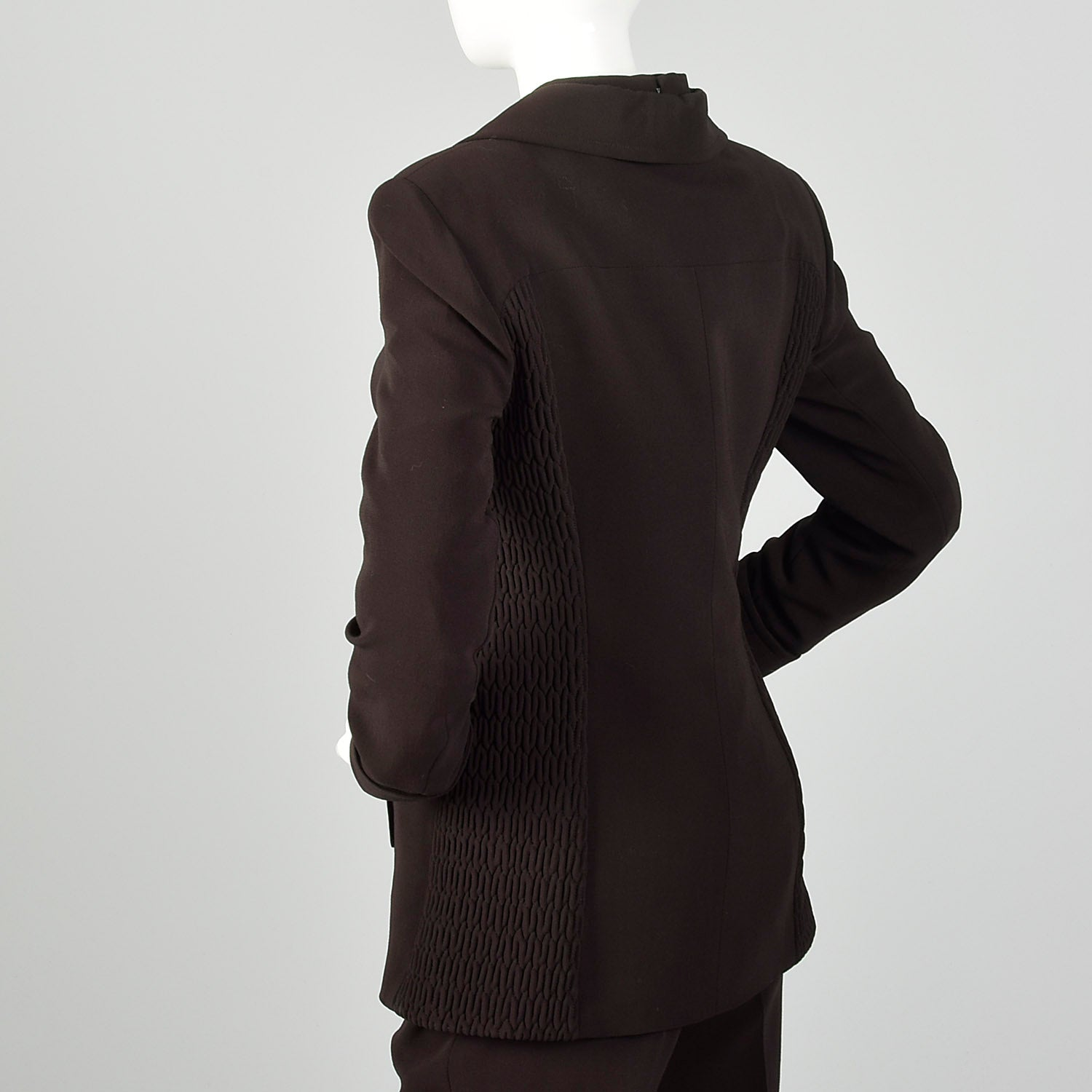 Medium Jacques Fath 1990s Brown Three Piece Suit