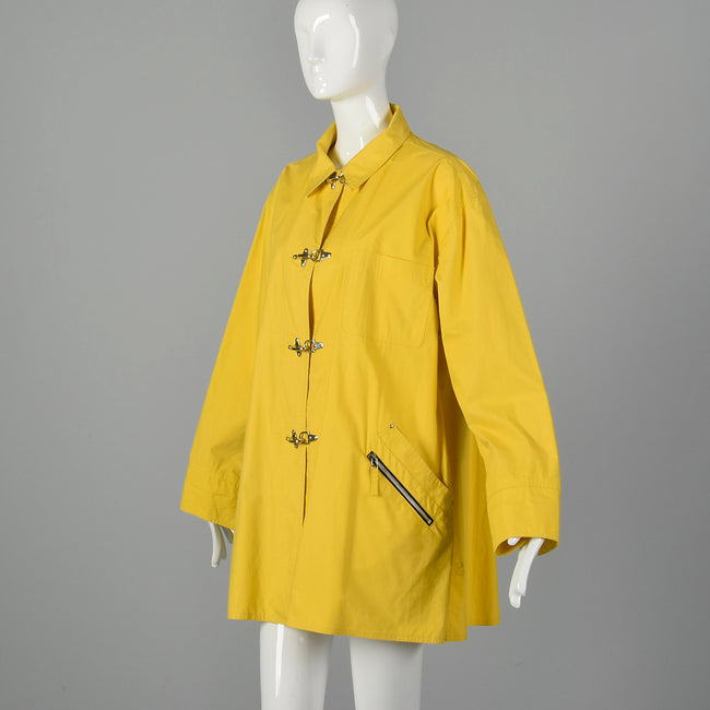 XL Emanuel Ungaro 1990s Raincoat