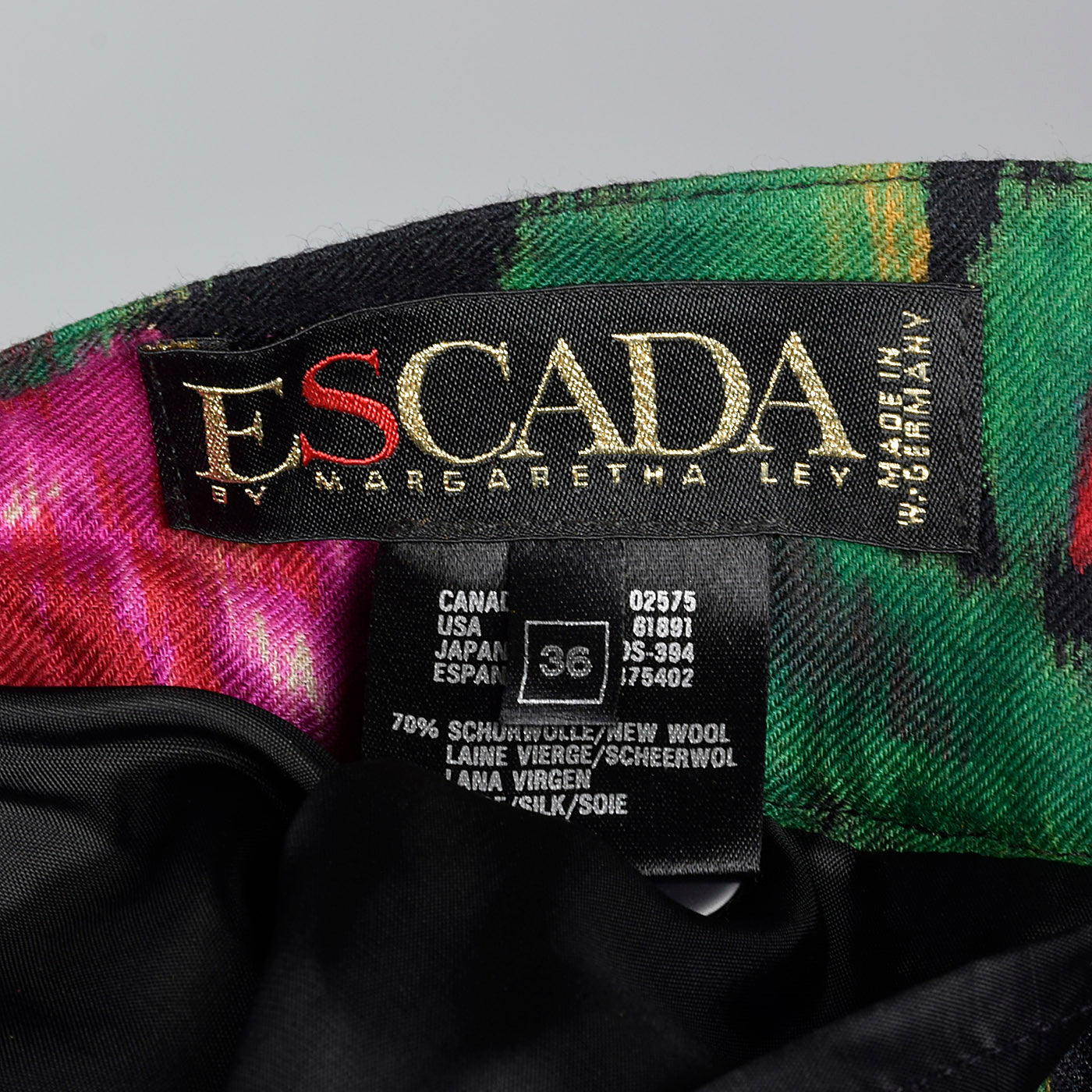 1980s Escada Floral Seeparates Set