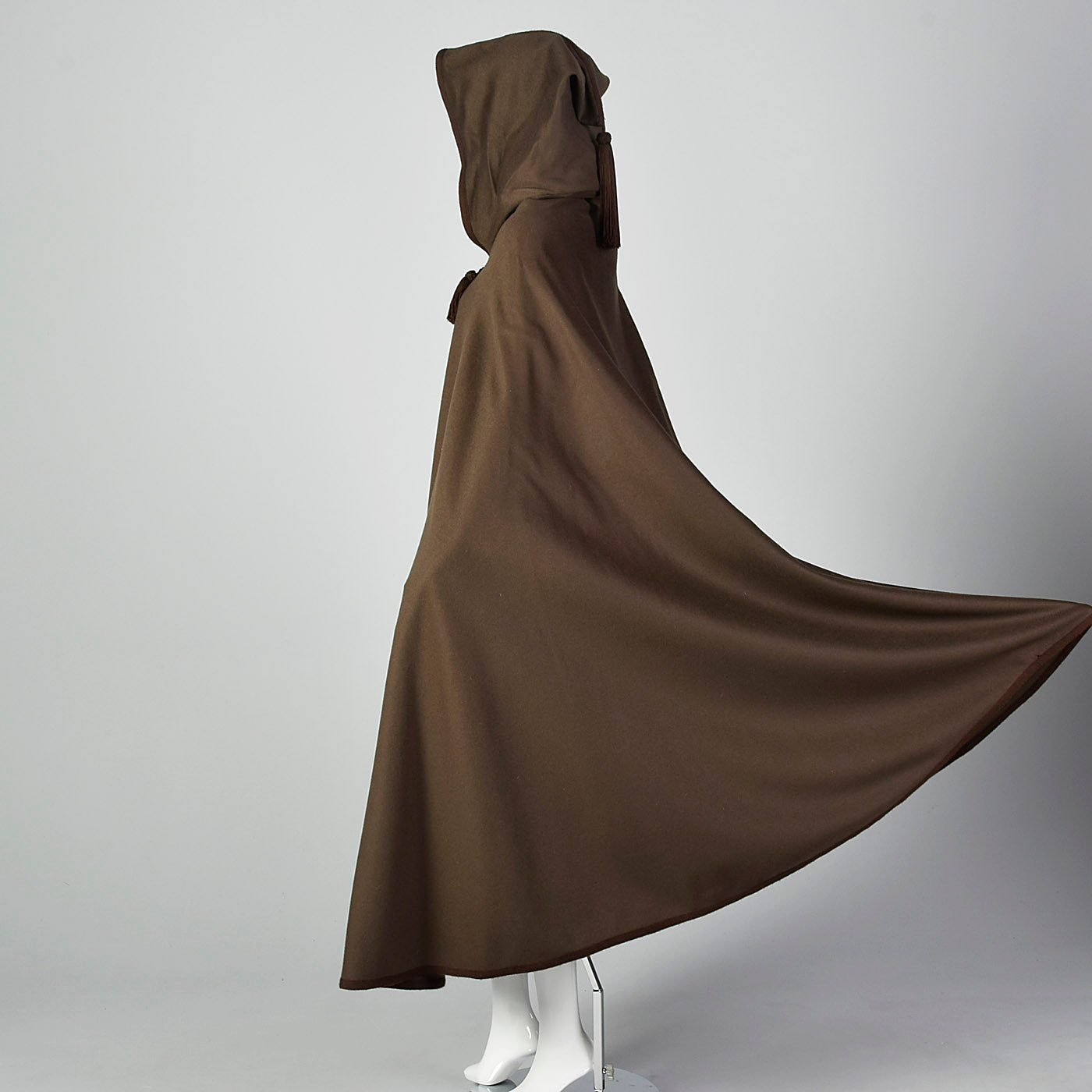 1976 Yves Saint Laurent Russian Collection Hooded Cape