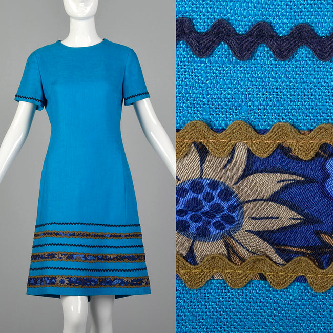Small Vera Maxwell 1960s Shift Dress