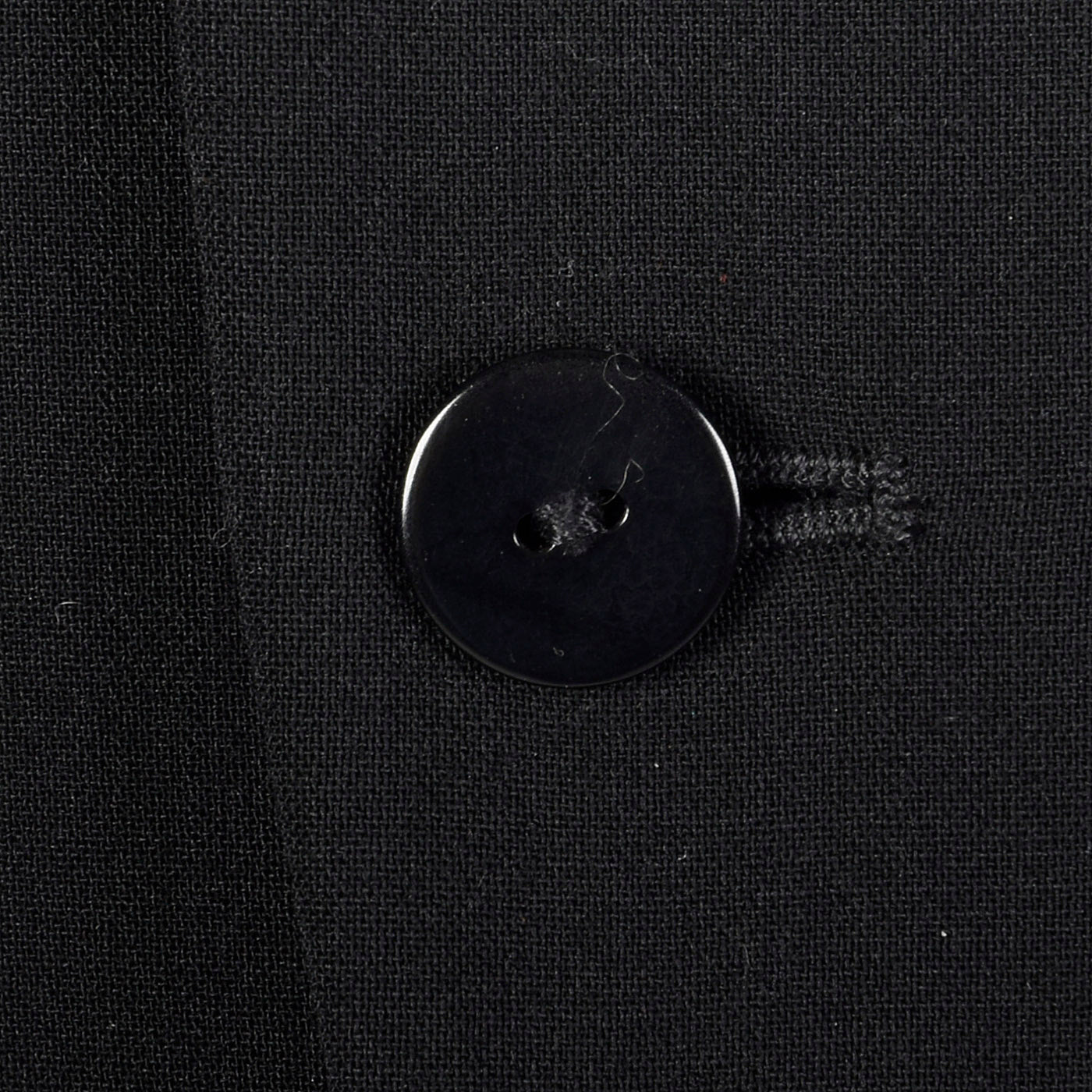 1990s Ralph Lauren Black Label Asymmetric Button Jacket