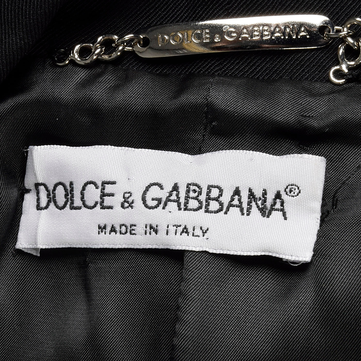 1990s Dolce & Gabbana Black Dress