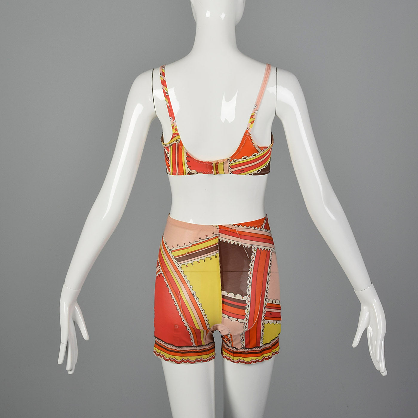 1960s Emilio Pucci Formfit Rogers Bra and Girdle Set