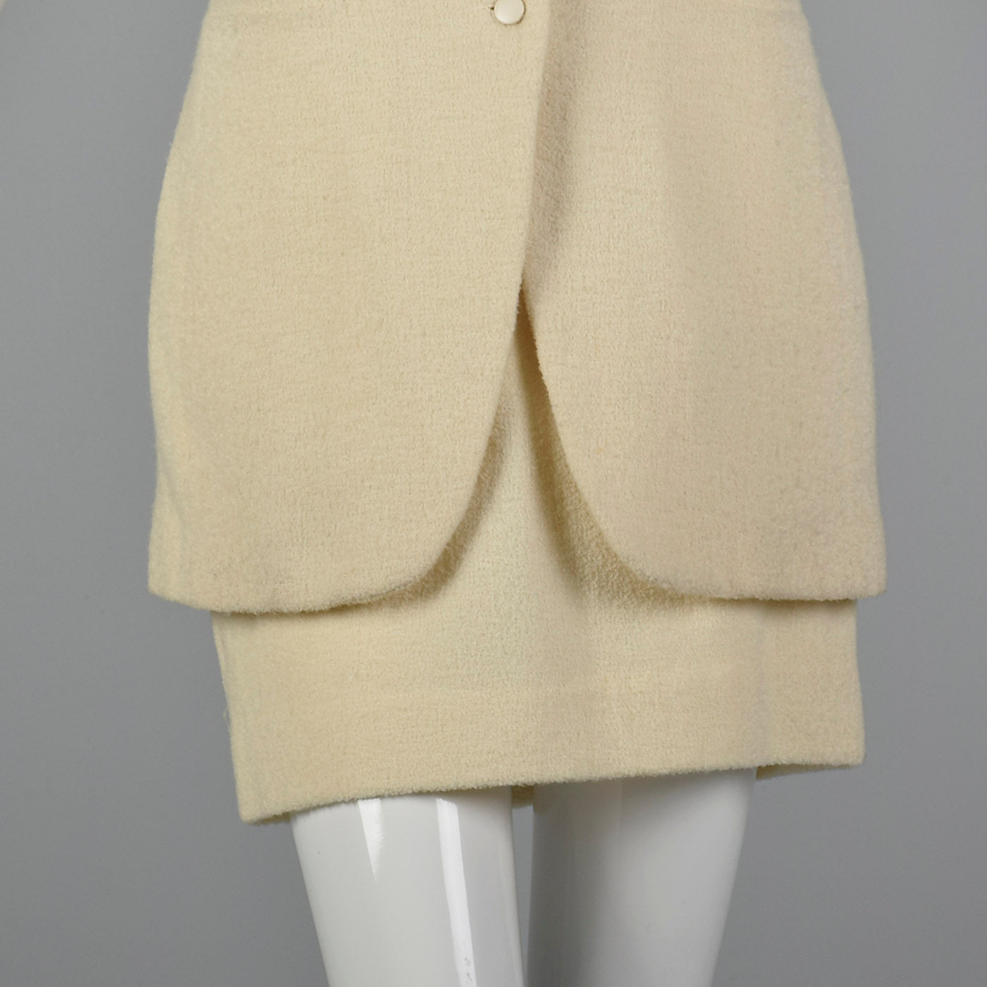 1970s Byblos High Waist Skirt and Tunic Vest Set