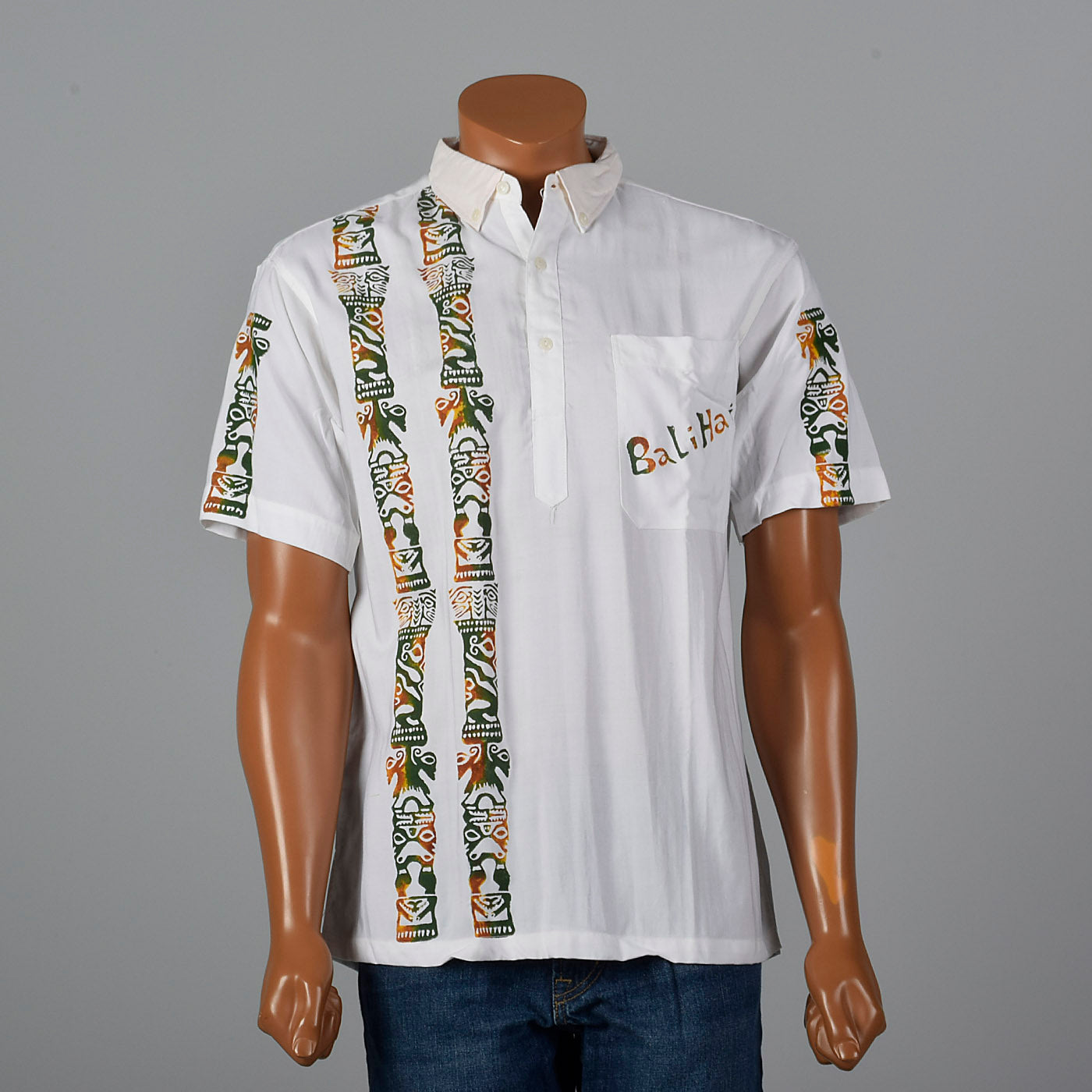 1960s Bali Hai Uniform Shirt