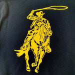 Load image into Gallery viewer, Cowboy Hoodie - Black