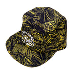 Load image into Gallery viewer, Line Art Running Hat - Yellow