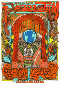 Pearl Jam Limited Edition Poster