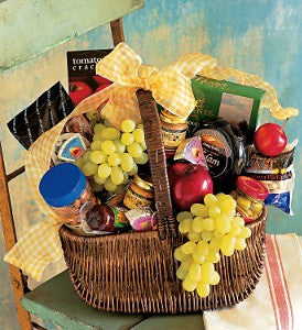 Fruit and Gourmet Basket-standard