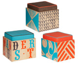 Sideshow Seating Cube Set with Cushions