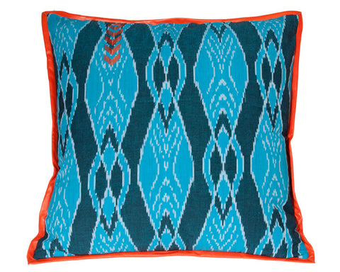 Naranja Ikat Floor Pillow - Limited Edition