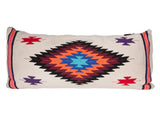 modern tribal theme body pillow from large southwestern blanket