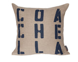 modern decorative hemp with Coachella graphic