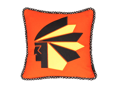 Etu Pillow in Orange