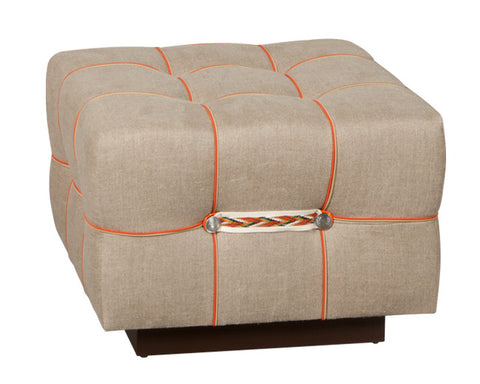 Block Party Snap Ottoman