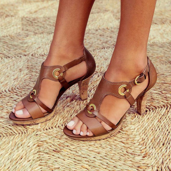 Women's New Style Elegant Buckle Strap Sandals