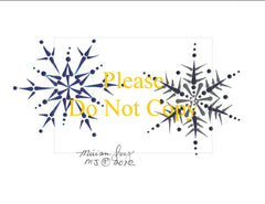 Free MJ Snowflakes Patterns